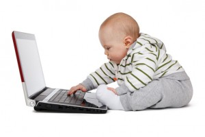 baby-working-on-a-laptop
